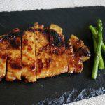 豚ロースのメープル味噌漬け焼き